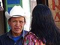 Man and Woman in Street - Quetzaltenango (Xela) - Guatemala (15960569861).jpg