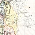 Manasseh 2. 1852 Philip Map of Palestine - Israel - Holy Land - Geographicus - Palestine-philip-1852.jpg