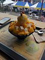 Mango Bingsoo, Sulbing Sinchon, Seoul, South Korea, July 2015.jpg