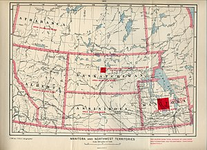 District of saskatchewan wikipedia a 1900 map showing the district of saskatchewan at its greatest extent gumiabroncs Choice Image