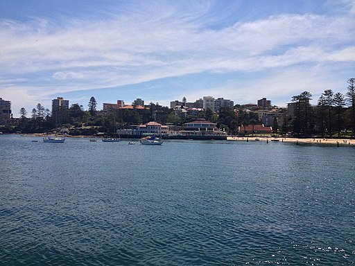 Manly Cove viewed from the Manly ferry