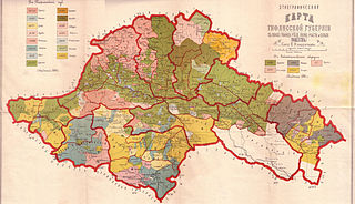 Tiflis Governorate 1846-1917 guberniya of the Russian Empire