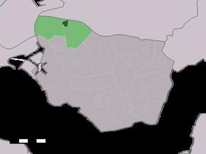 Lewedorp - Image: Map NL Borsele Lewedorp