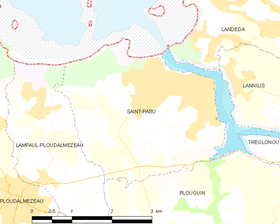 Map commune FR insee code 29257.png