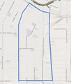 Map of Central-Alameda neighborhood, Los Angeles, California.png