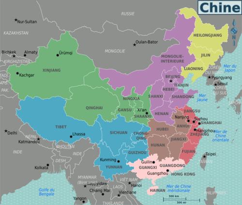 Carte Chine Villes Provinces.Chine Wikivoyage Le Guide De Voyage Et De Tourisme