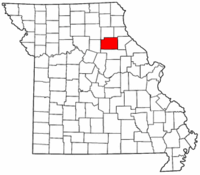Map of Missouri highlighting Monroe County.png