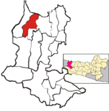 Map of Tanjung District, Brebes Regency.png