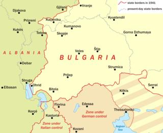 World War II in Yugoslav Macedonia