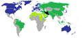 Map of the 2009 Iranian Presidential election international responses.png