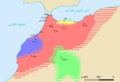 Mapa político de Marrocos (séc. VIII-XI)-ar.png