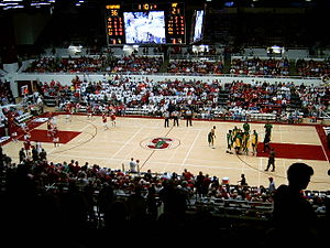 Maples Pavilion - Hosting the USF Dons in November 2005