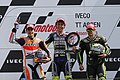 Marc Márquez, Valentino Rossi and Cal Crutchlow 2013 Assen 3.jpg