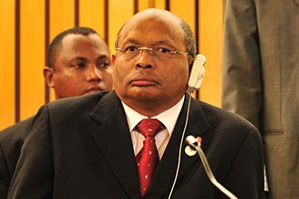 Minister of Foreign Affairs (Madagascar) - Image: Marcel Ranjeva, 12th AU Summit, 090203 N 0506A 616