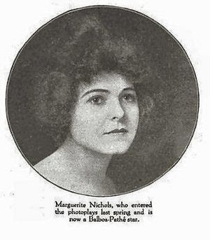 Marguerite Nichols - The Green Book Magazine, January 1916