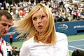 Maria Sharapova at the 2007 US Open.jpg