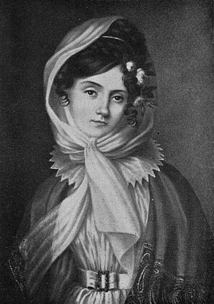 Maria Szymanowska - Maria Szymanowska around 1830