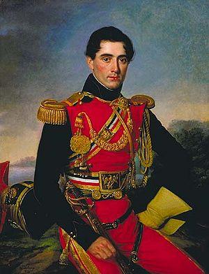 Jean Joseph Vaudechamp - Vaudechamp's portrait of Antoine Jacques Philippe de Marigny de Mandeville (1833)
