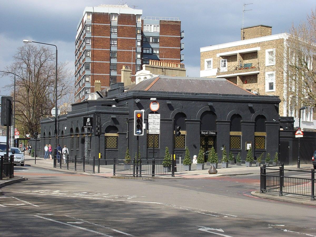 Marlborough Road tube station - Wikipedia