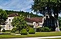 Marmagne Abtei Fontenay Hof 03.jpg