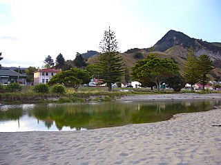 Tokomaru Bay Settlement in Gisborne District
