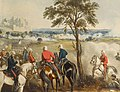 Martens (Henry) The Battle of Goojerat, on the 21st February 1849, hand-coloured aquatint by J. Harris after Marten, image ., R. Ackermann, 1850.jpg