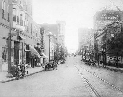 Martin Street Raleigh 1915