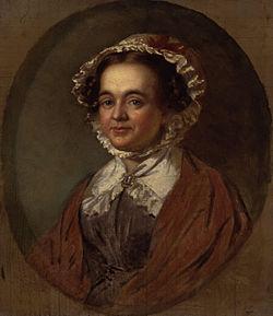 Mary russell mitford by benjamin robert haydon