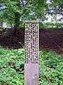 Mathematical Sculpture, Botanic Gardens, Durham - geograph.org.uk - 2183377.jpg