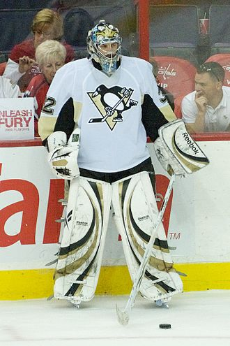 Mathieu Garon - Garon with the Penguins in 2009.
