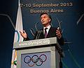 Mauricio Macri recibió un reconocimiento del Comité Olímpico Internacional (9723378669).jpg