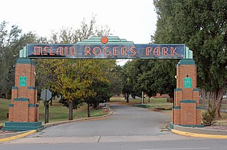National Register of Historic Places listings in Custer County, Oklahoma - Image: Mc Lain Rogers Park