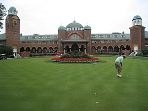 2012 Ryder Cup - Clubhouse at Medinah Country Club in 2008