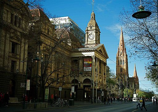 Melbourne Town Hall St Pauls