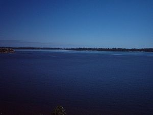 Melville Water - Melville water, picture taken from Heathcote point looking west
