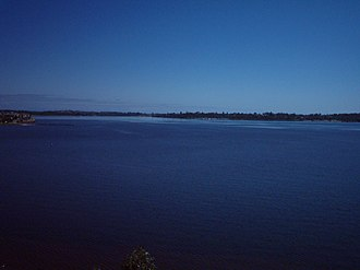 Melville Water - Melville water, picture taken from Point Heathcote, looking west