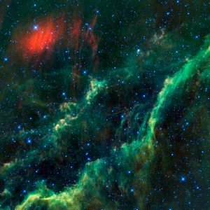 California Nebula - Image: Menkhib and the California Nebula