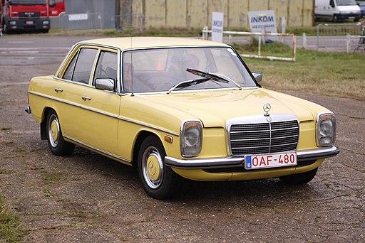 Mercedes-Benz 220D, circa 1974, Schaffen Diest, Fly-Drive 2013