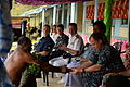 Mercy crew members participate in closing ceremony for the Viani Primary School during Pacific Partnership 2015 150617-N-PZ713-096.jpg
