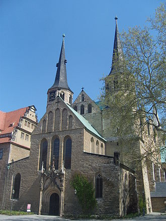 Thietmar of Merseburg - Merseburg Cathedral where Thietmar worked
