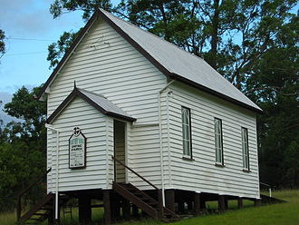 Barney View, Queensland - Methodist (now Uniting) Church, Barney View, 2006