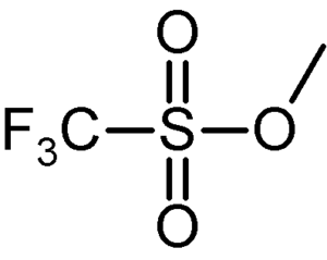 Sulfonic acid - Methyl triflate