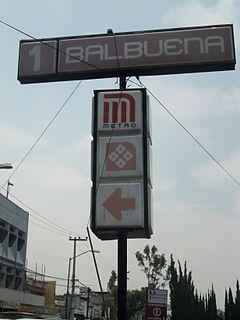Metro Balbuena Mexico City metro station