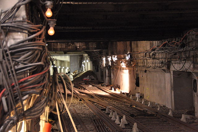 File Metro De Paris Ligne 4 Porte D Orl 233 Ans Travaux De Prolongement 5 Jpg Wikimedia Commons