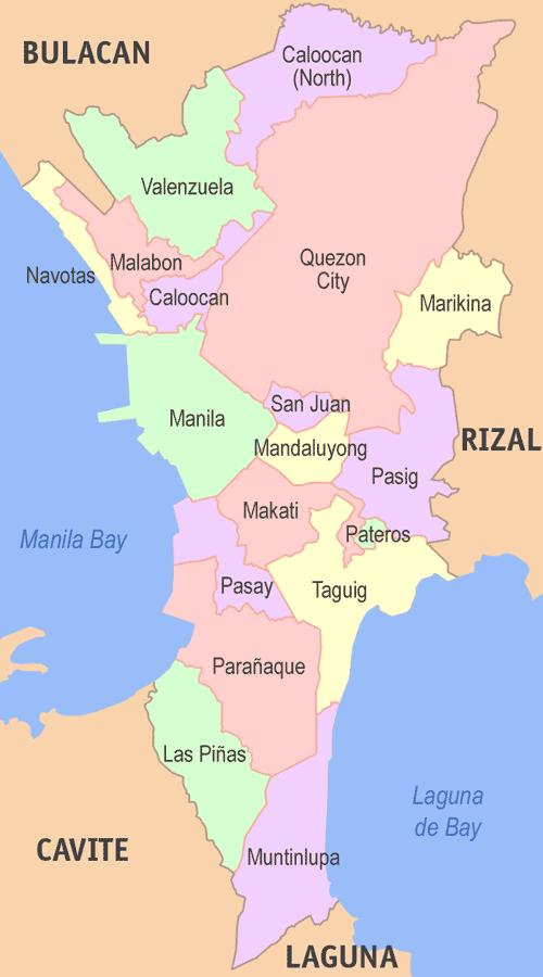 Metro manila map (1)