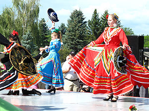 Mexican Canadians - Mexican heritage days in Edmonton.