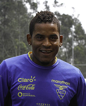 Michael Arroyo - Arroyo in training with Ecuador in 2015
