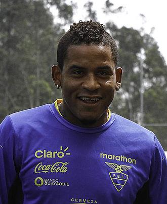 Michael Arroyo - Arroyo in training with Ecuador in 2015