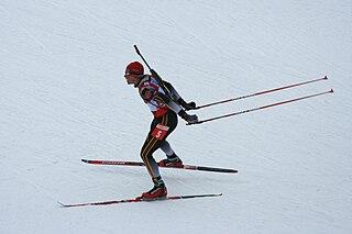 Michael Greis German biathlete
