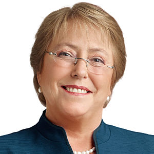 Chilean general election, 2013 - Image: Michelle Bachelet headshot 2013